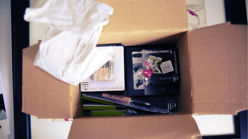 e.l.f. cosmetics Bestellung Haul
