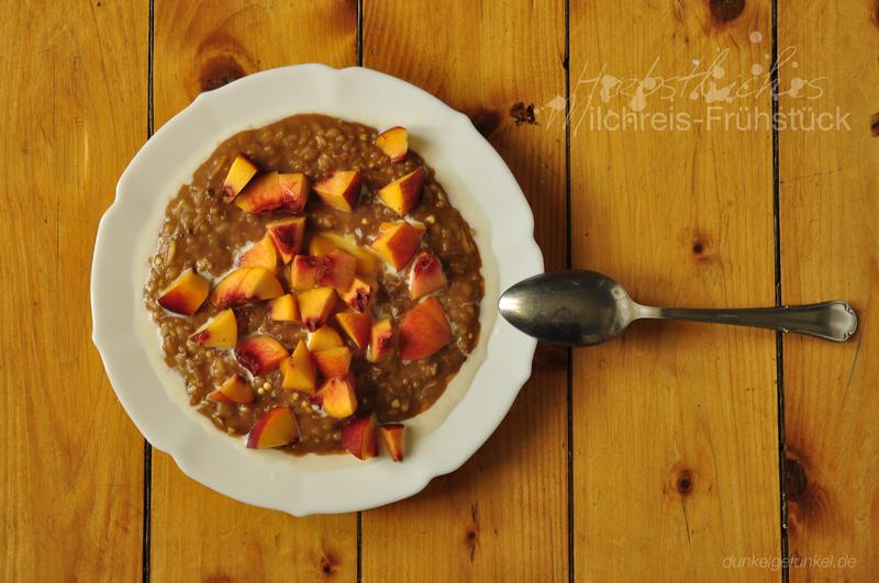 Herbstliches Milchreis-Frühstück