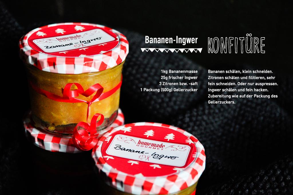Bananen-Ingwer Konfitüre